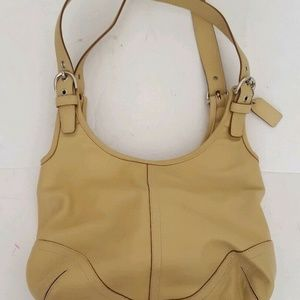 Coach Soho Leather Slim Hobo Medium Shoulder Bag
